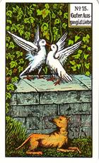 Significado de las Cartas del Tarot Gitano 21